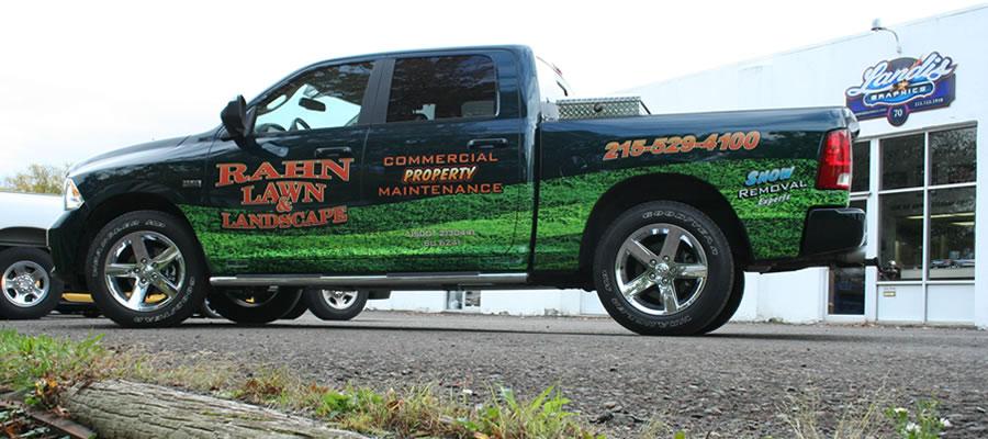 Landscape Pickup Trucks Pickup-truck-rahn-lawn